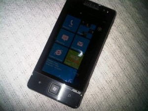 ASUS Windows Phone 7 Handset Leaked