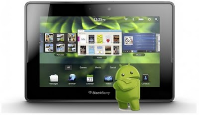 Android Apps in BlackBerry PlayBook Not All Supported