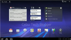 Android 3.0 (Honeycomb) Leaked on Video, Designed for Tablets