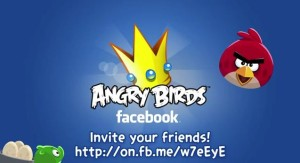 Angry Birds Coming to Facebook on Valentine's Day