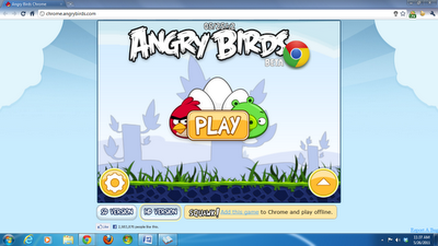 Play Angry Birds in Your Chrome Browser, for FREE!