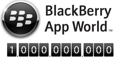 BlackBerry App World Hit 1-Billion Download Milestone!