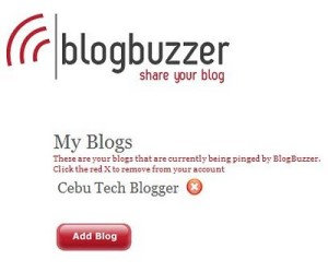 BlogBuzzer – Another Blog Pinging Tool Review
