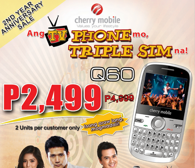 Cherry Mobile Tryo Q60 at 50% Off? No, Not Exactly… Just 1K Less!