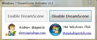 Download DreamScene Activator for Windows 7