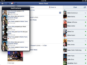 Download Facebook App for iPad [Official]