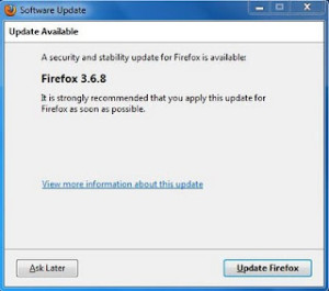 Mozilla Firefox 3.6.8 Update Available for Download
