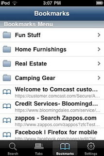 Firefox Home – a Mozilla App for iPhone