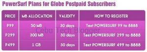 Globe PowerSurf Plans for Postpaid Subscribers Now Available