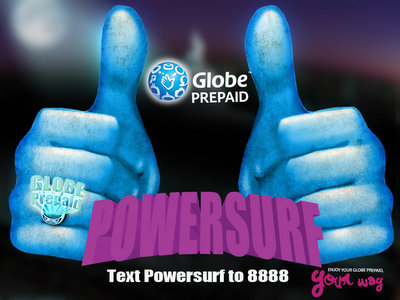 Globe Powersurf, Per Minute Web Surfing in 1 Hour for Php 15