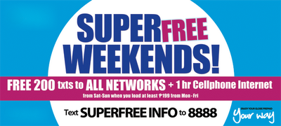 Globe_SuperFree_Weekends