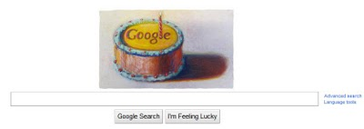 Google's Birthday is Today, September 27th