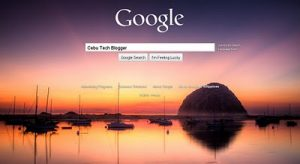 Google Allows Users to Customize Homepage Background