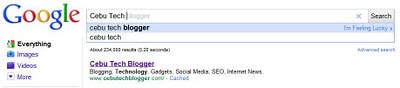 Google Instant, Update Search Results as you Type