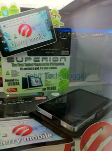 Cherry Mobile Superion Invades Cebu, Priced at Php 19,990