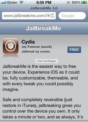 How to Jailbreak iOS 4.3.3 on iPhone 3GS and iPhone 4 Using JailbreakMe 3.0