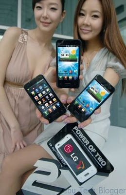 LG Optimus 2X Released in Korea; has a White Version, Too!