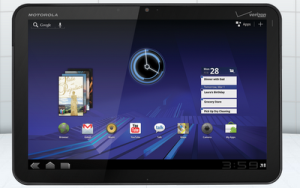 Motorola XOOM, the first Android 3.0 Tablet Exclusively for Verizon
