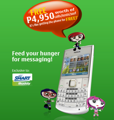With This New Smart Buddy Promo, Nokia X2-01 is Almost FREE!