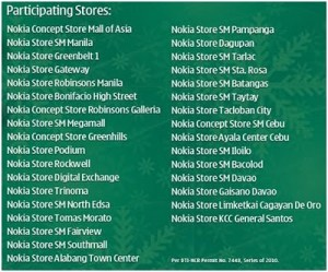 Nokia Holiday Rush Sale on December 4th, all Nokia Stores!