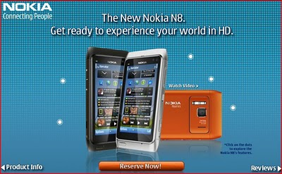 Philippines Gets Nokia N8 Official Price, Pre-Order Now for Additional Free 16GB Flash Drive