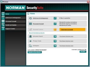 Free Anti-Virus for 4 Years – Download Norman Security Suite v8 DnBNOR