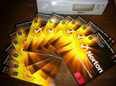 Giveaway: 10 Copies of Norton Internet Security 2012