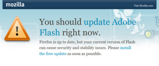 Fix Adobe Flash Flaws in Firefox 3.0 and 3.5