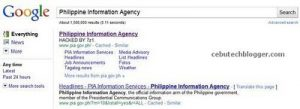 Philippine Information Agency (PIA) and Bulacan Websites Hacked