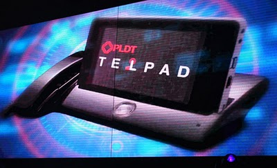PLDT TelPad, a DSL Android Tablet with LandLine