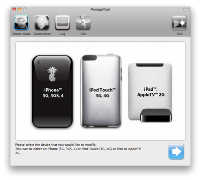 PwnageTool 4.2 for Mac Released, Jailbreak iPhone 4/ 3G / 3GS/ Verizon, iPod Touch 3G / 4G, iPad, and AppleTV 2G on iOS 4.2.1 Untethered