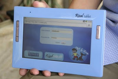 First Look of the Rizal Tablet