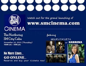 SMCinema.com, your SM Cinema Online Portal