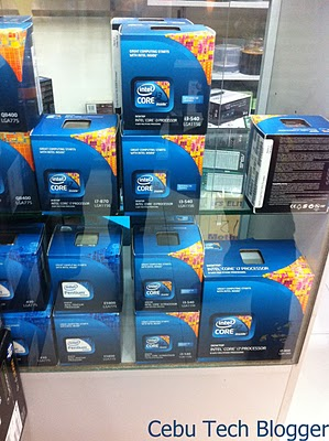 Sandy Bridge Desktop Processors Already Here in Cebu!