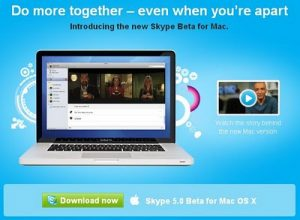 Skype 5.0 Beta for Mac OS X Available for Download