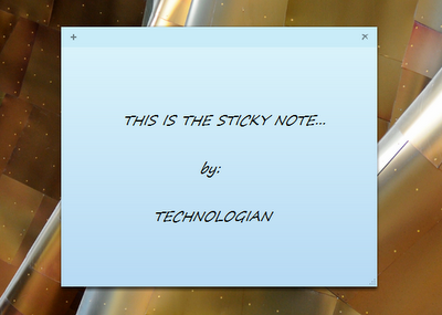 Tips and Tricks on Sticky Notes of Windows 7