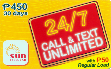 Sun Cellular Unlimited Call and Text Services To Continue Despite PLDT's Acquisition