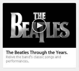 The Beatles now on iTunes