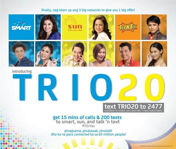 Trio 20, Yet Another Offer from SMART and Sun Cellular Merger