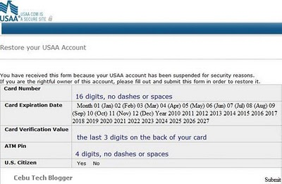 USAA Customer Notification Email | New USAA Phishing Scam