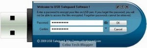 Protect USB Flash Drive with USB Safeguard Software