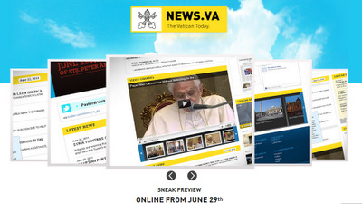 Vatican News Website, Officially Live on June 29th