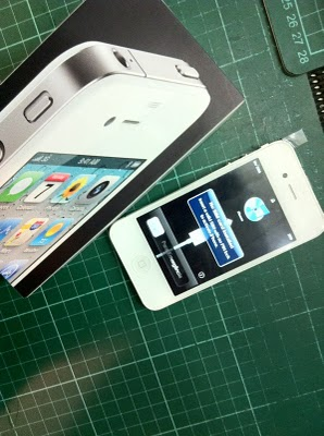 White iPhone 4 Spotted here in Philippines?