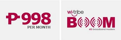 Wi-Tribe 4G Broadband Available in Philippines