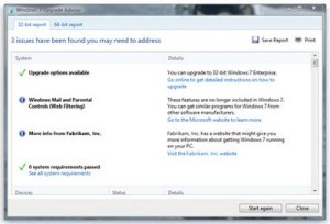 Read more about the article Windows 7 Upgrade Advisor Final Release