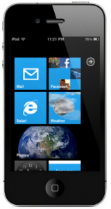 Windows Phone 7 Theme for iPhone and iPod Touch Started to Show Up
