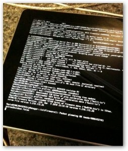 Apple iPad Jailbreak by GeoHot's BlackRa1n