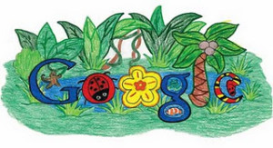 Doodle 4 Google Winner | Rainforest Habitat by Makenzie Melton