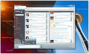 Gadfly Silverlight Client for Twitter