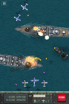 Free Game for iPhone, iPod Touch, and iPad – iFighter 1945
